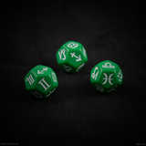 12-Sided Signs of the Zodiac Astrology Dice