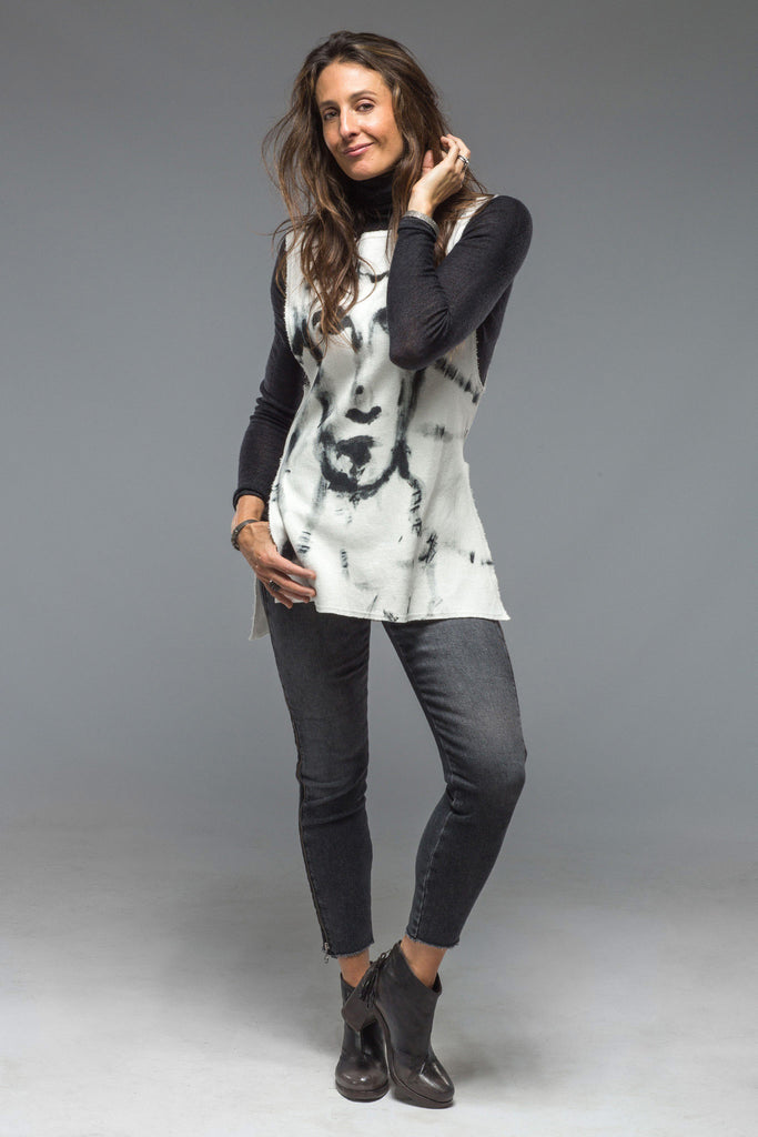 Face Sweatshirt Tank (4590378942557)