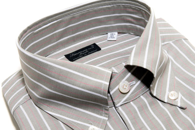 Finamore Balducci Jacquard Dress Shirt