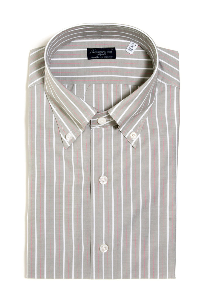 Finamore Balducci Jacquard Dress Shirt (135710867480)