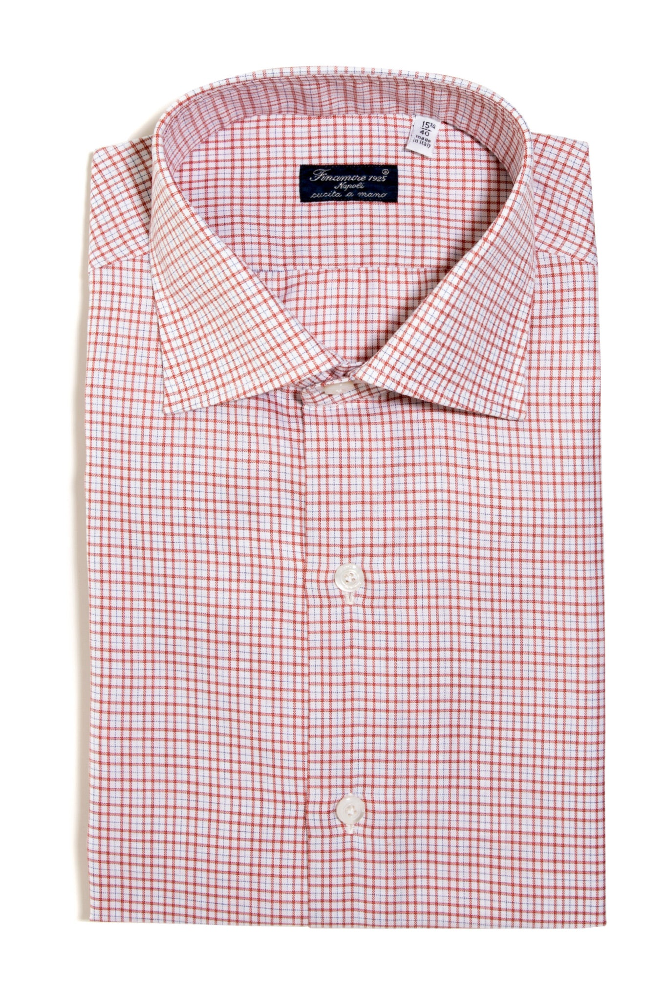 Finamore Guareschi Twill Dress Shirt (147440500760)