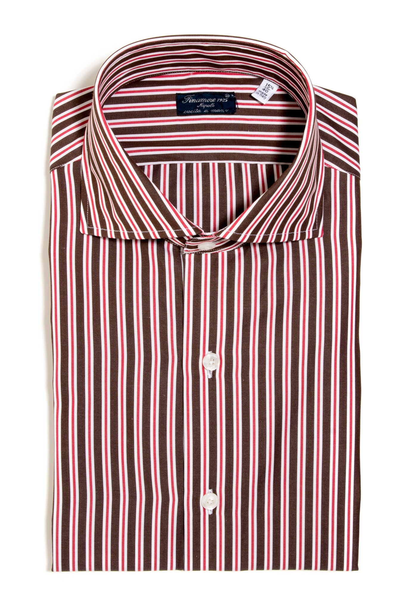Finamore Landolfi Poplin Dress Shirt (147442335768)