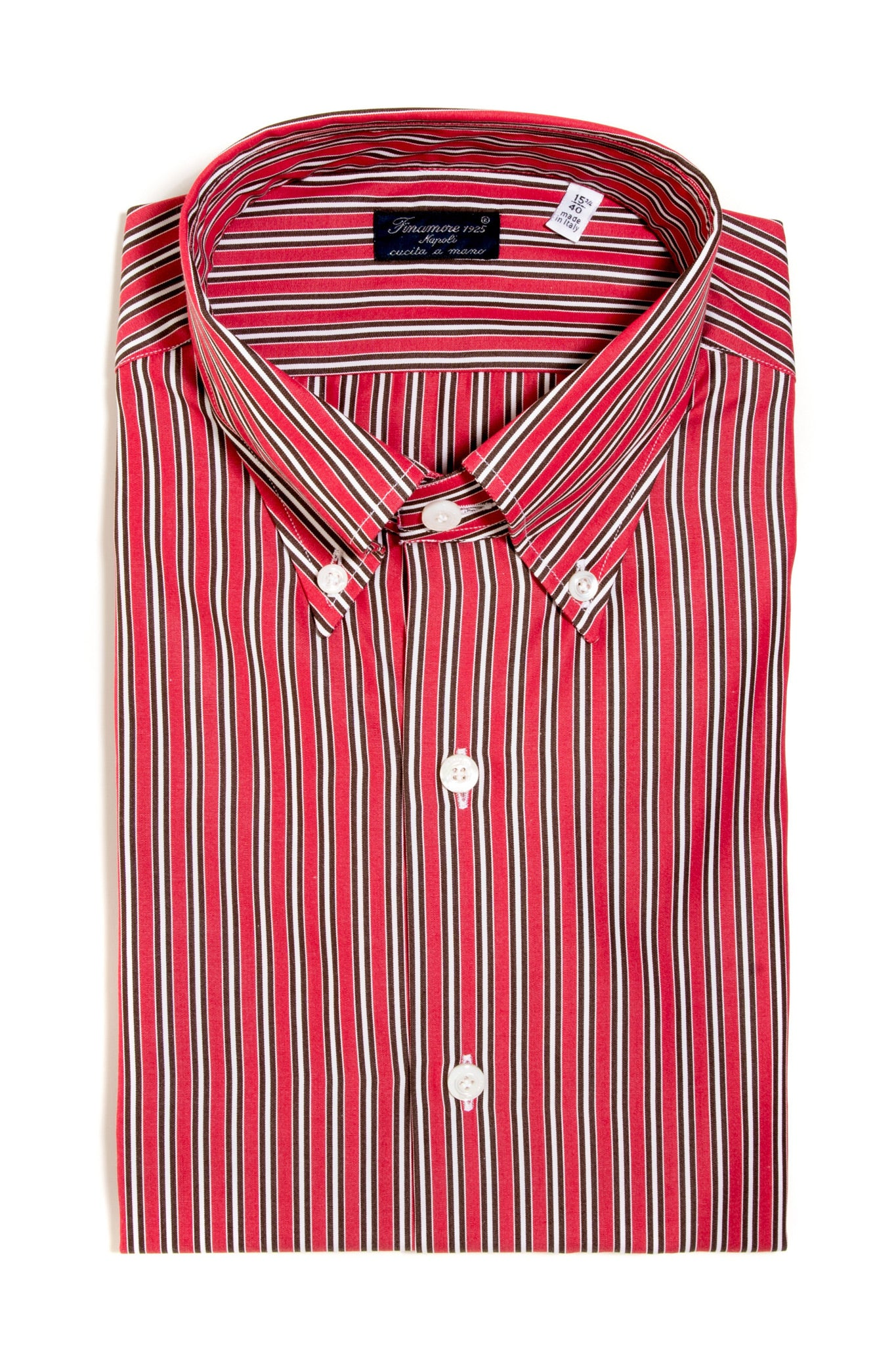 Finamore Calvino Poplin Dress Shirt (147433914392)