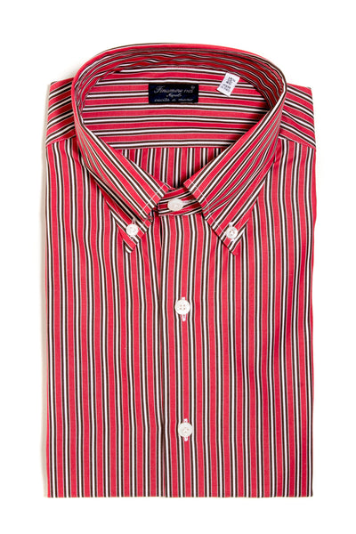 Finamore Calvino Poplin Dress Shirt