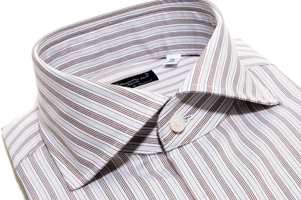 Finamore Montale Twill Dress Shirt
