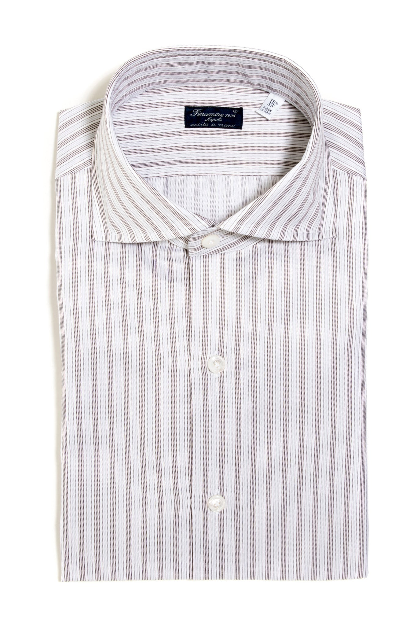 Finamore Montale Twill Dress Shirt (147446235160)