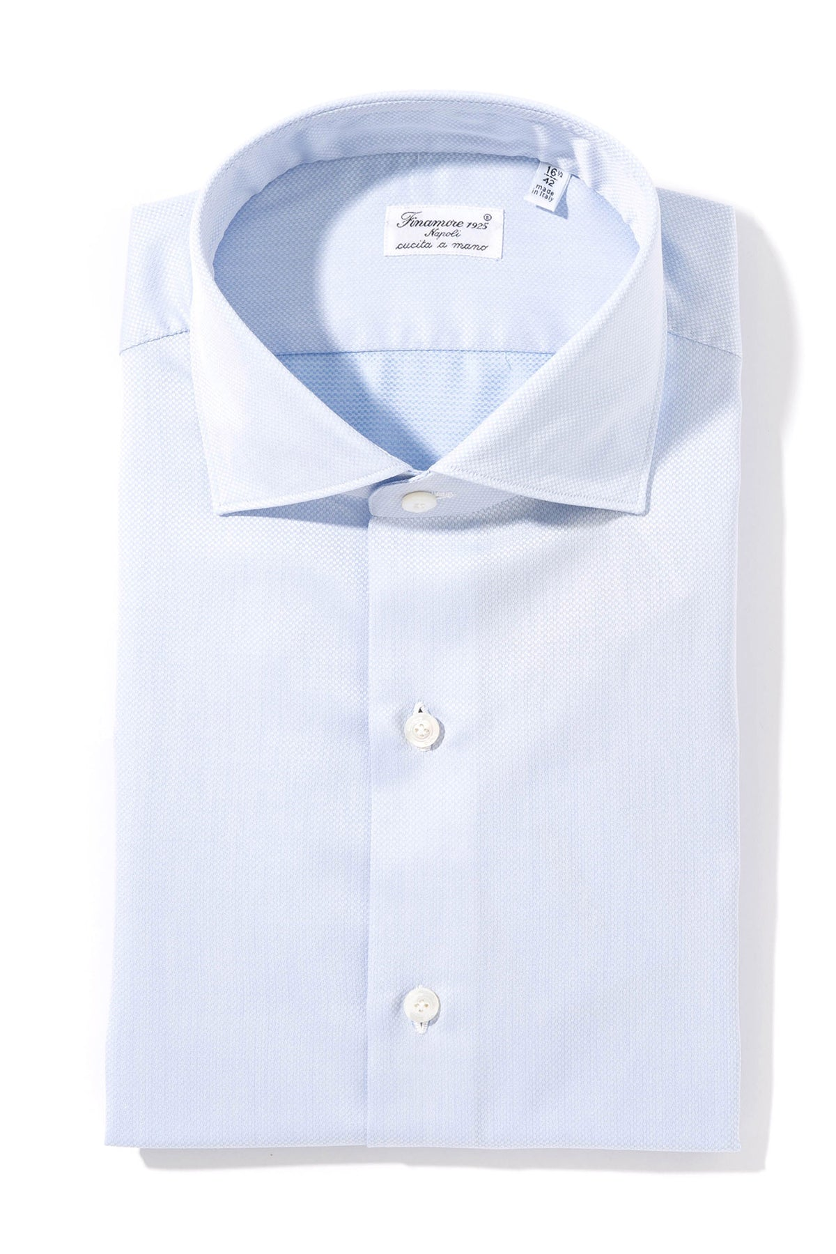 Finamore Hawes Dress Shirt (1569169768541)