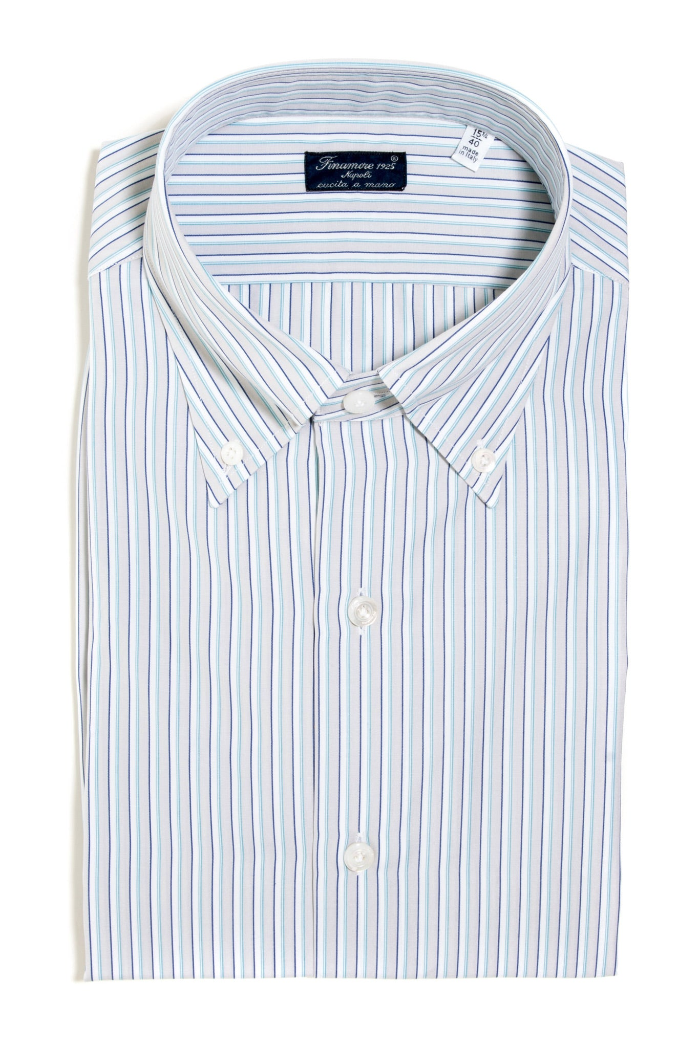Finamore Morante Poplin Dress Shirt (147447283736)