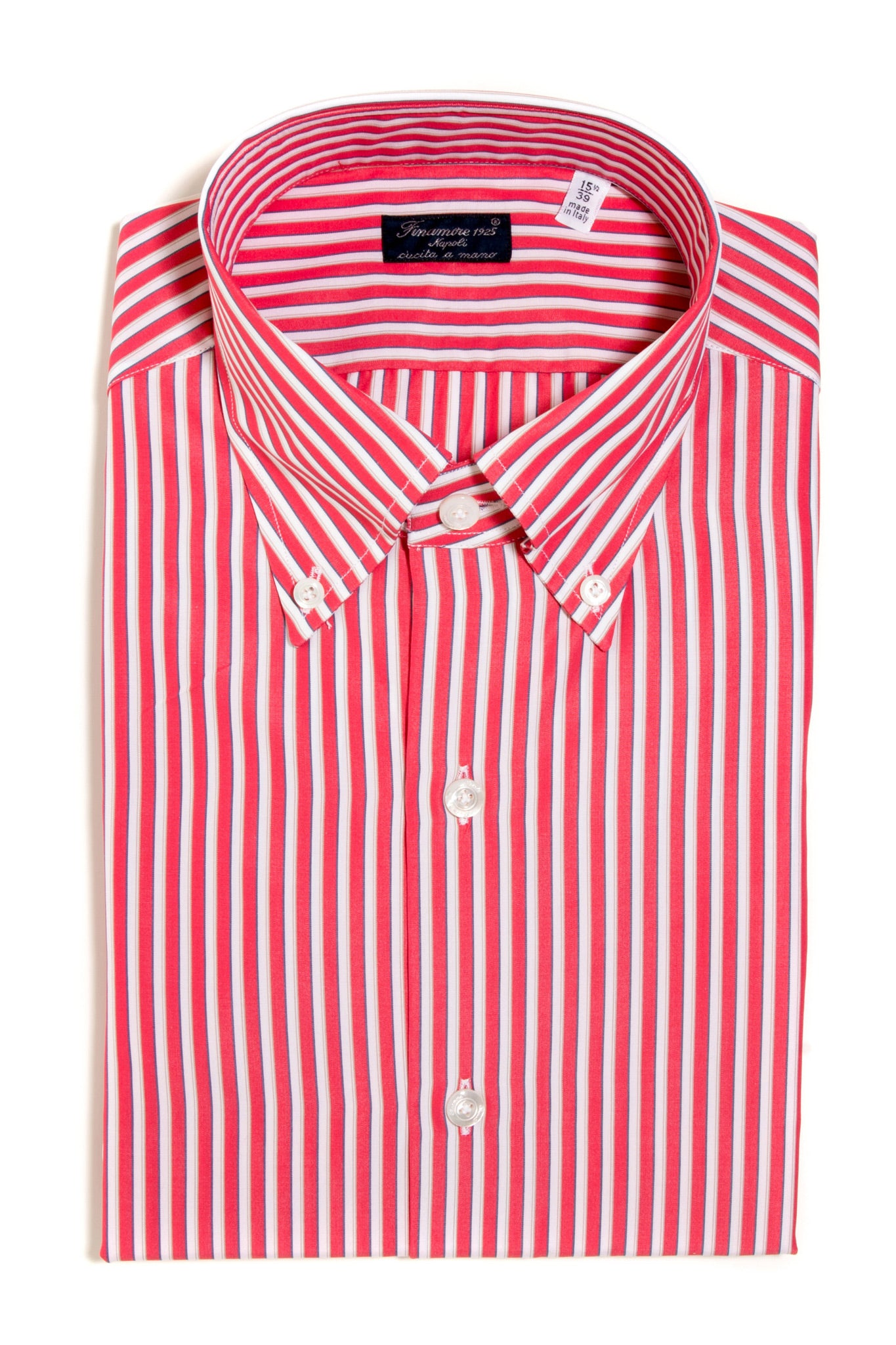 Finamore Giordano Poplin Dress Shirt (147438305304)