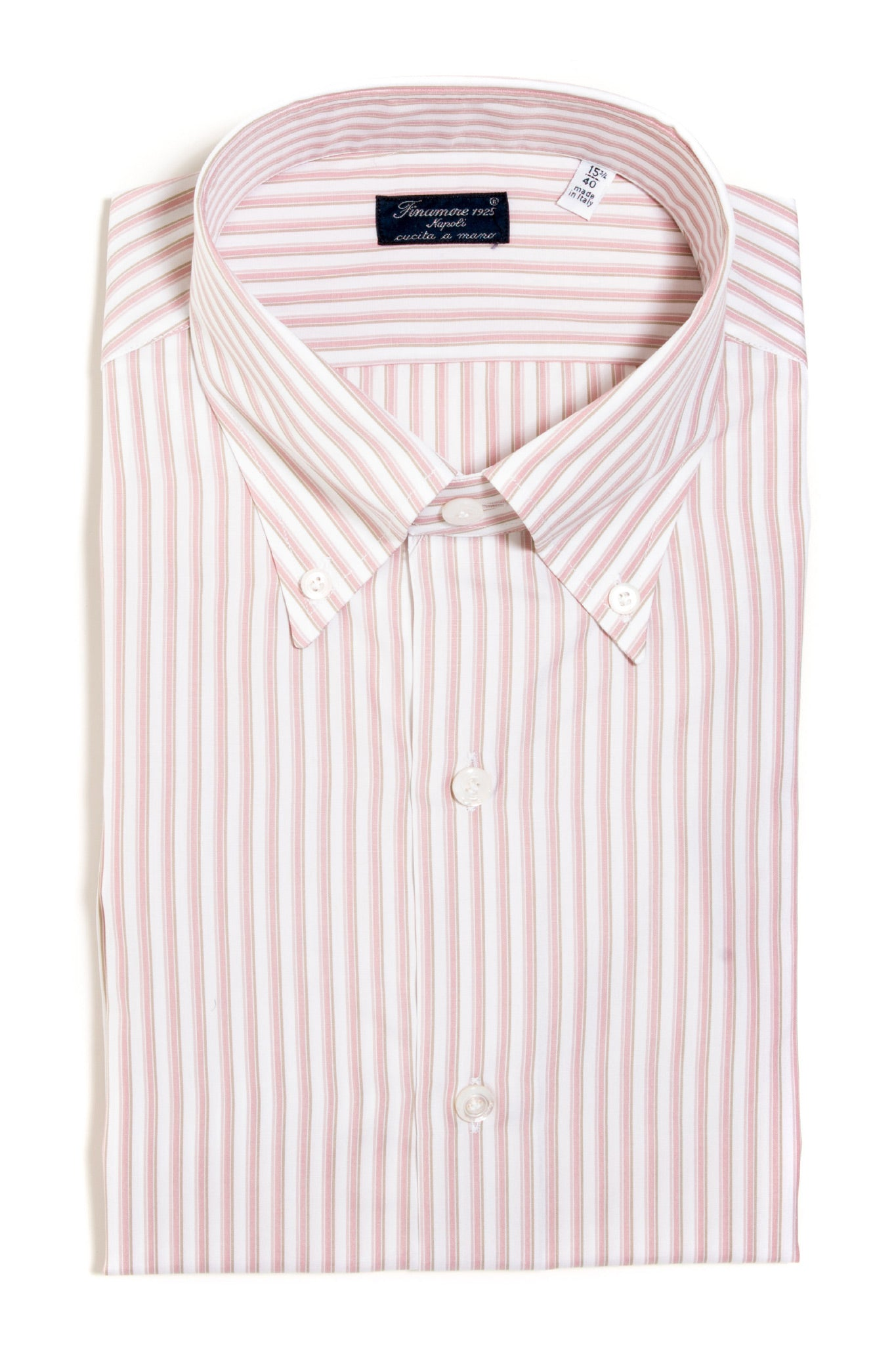 Finamore Alfieri Poplin Dress Shirt (147338133528)