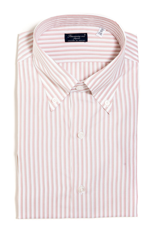 Finamore Alfieri Poplin Dress Shirt