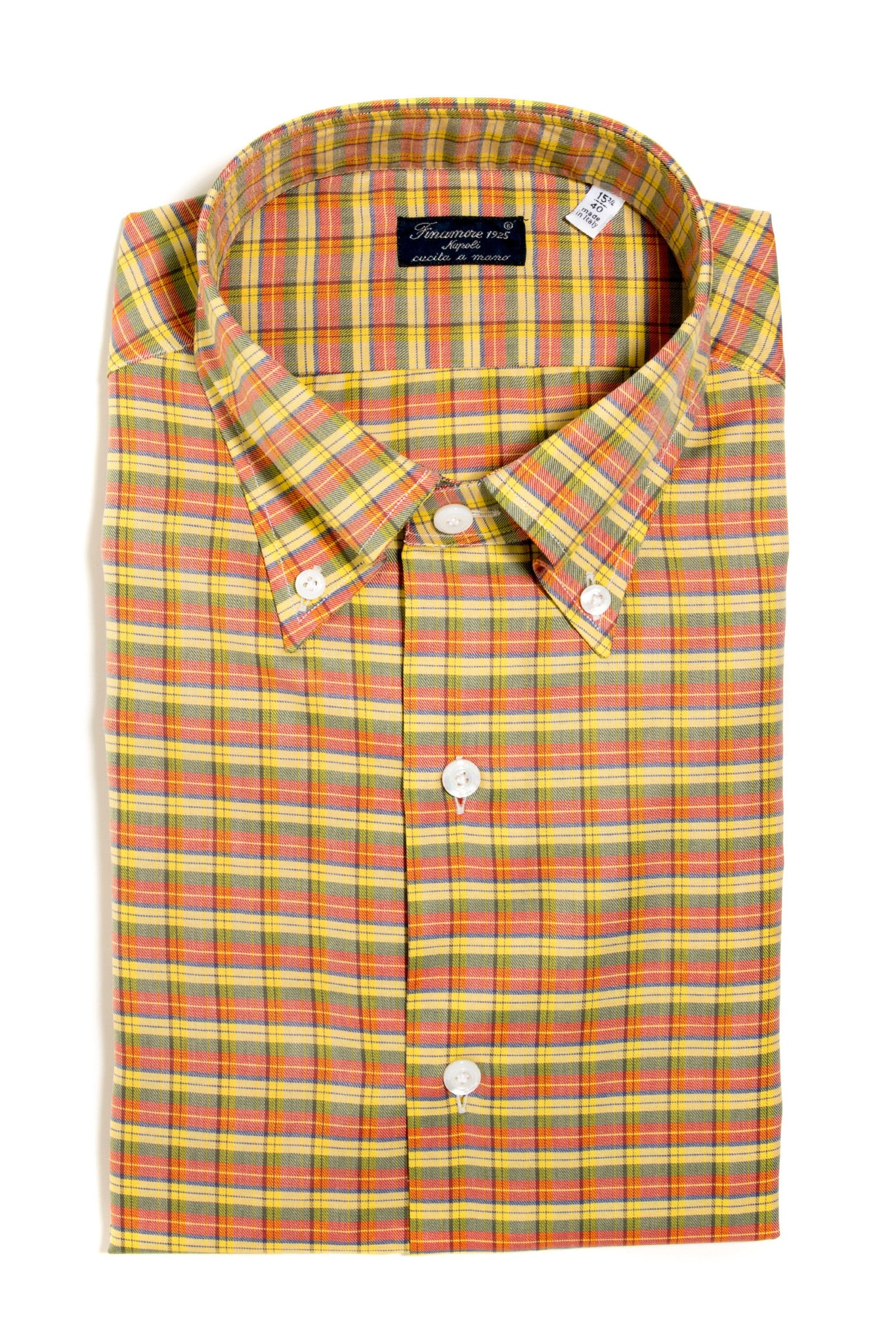 Finamore Lucarelli Twill Dress Shirt (147445284888)