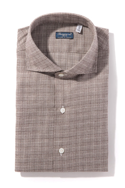 Finamore Liri Twill Flannel Sports Shirt