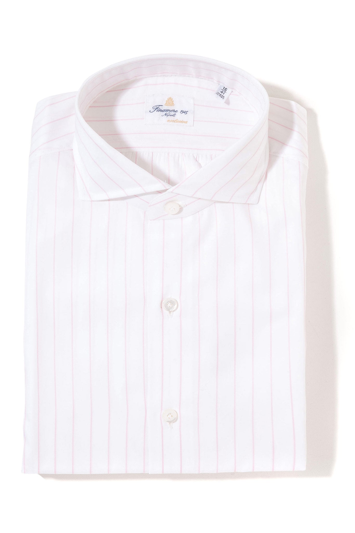 Finamore Kerrington Esclusiva Dress Shirt (4103362510941)