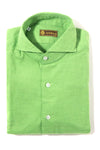 Giovani Flannel Shirt In Green