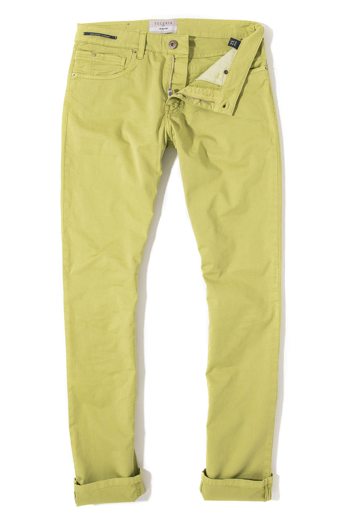 Fowler Ultralight Performance Pant In Lime (4686649491549)