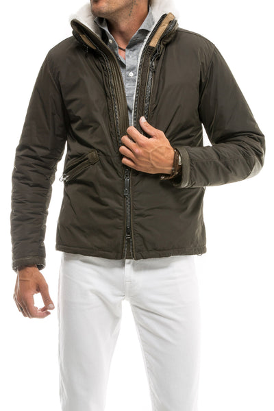 Axel's Altamura Shearling Lined Jacket (2028264095837)