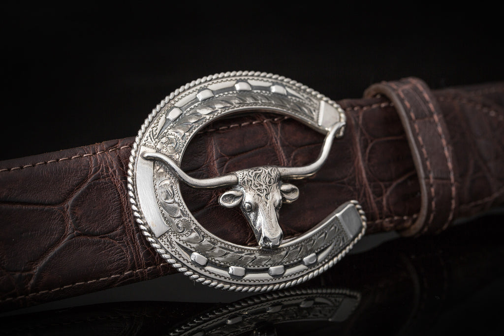 Comstock Heritage Frisco Steer Buckle (1938918408285)