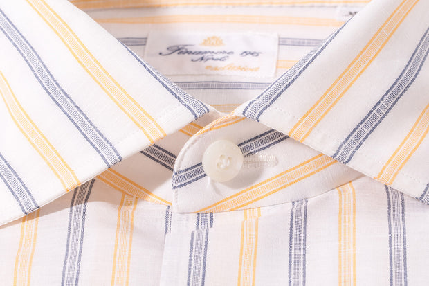 Finamore Ausa Exclusiva Handmade Dress Shirt