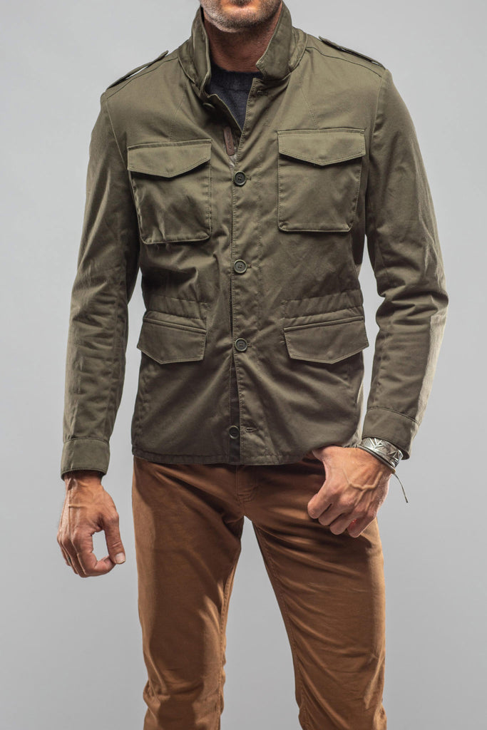 Sullivan Reversible Jacket In Army (5852374892697)