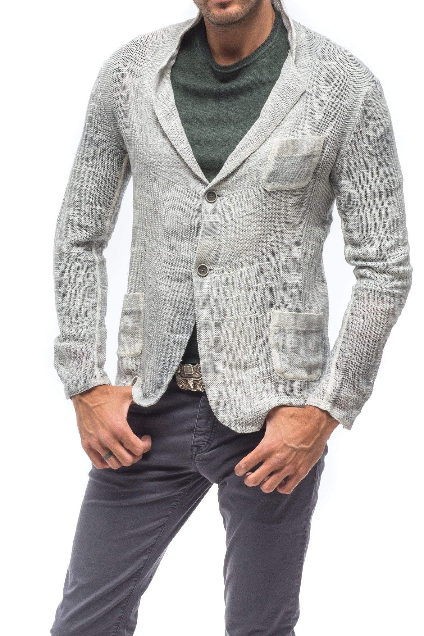 Gilera Linen Cotton Sport Coat (3677395681373)