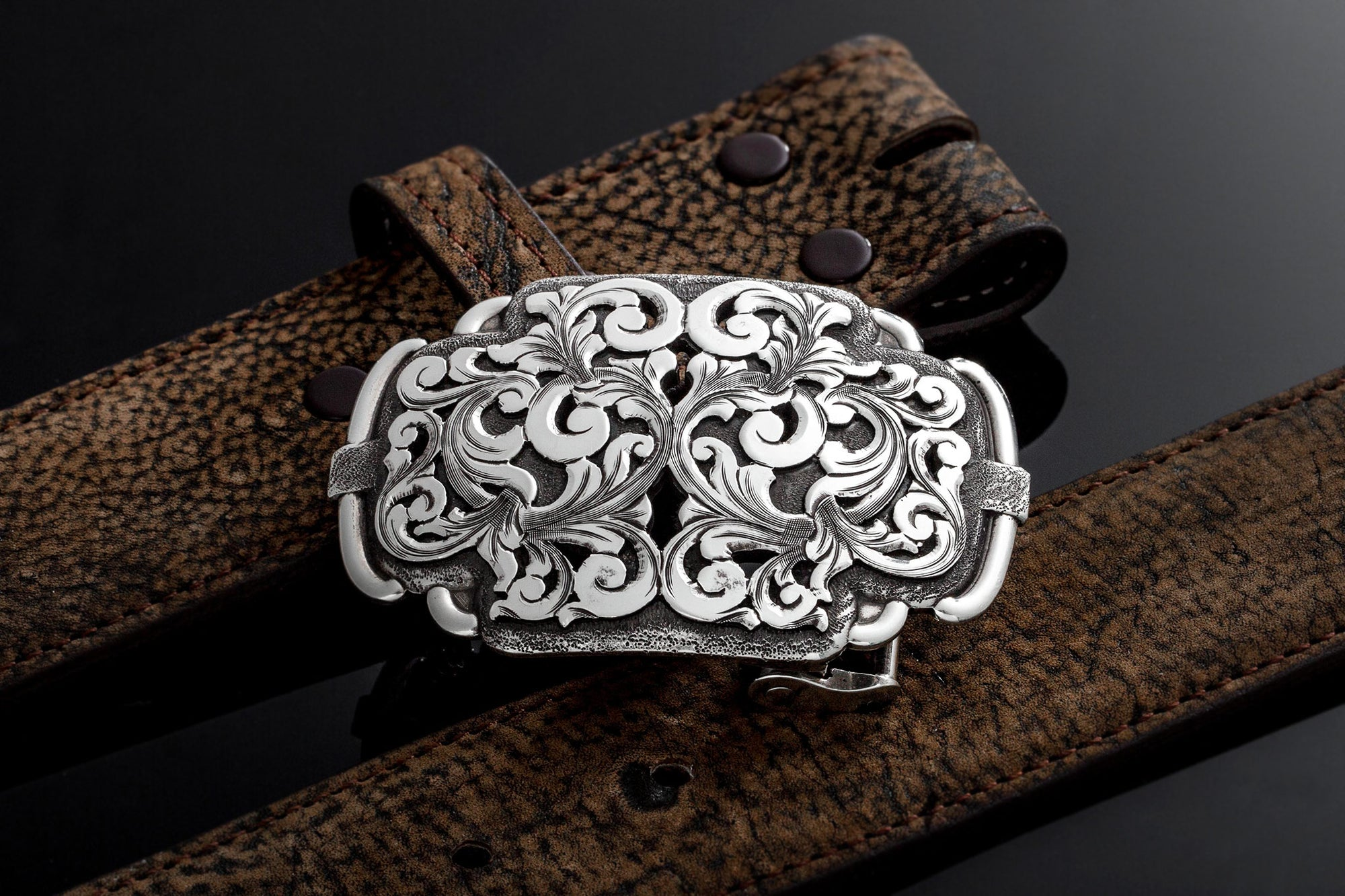 Corday AO Swirl Belt Buckle