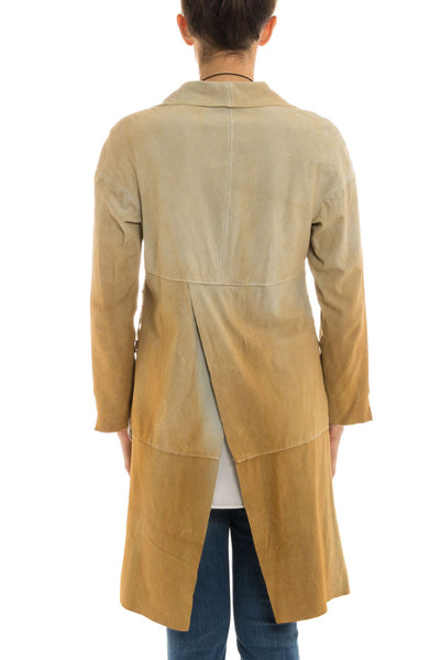 Astrid Long Suede Overshirt