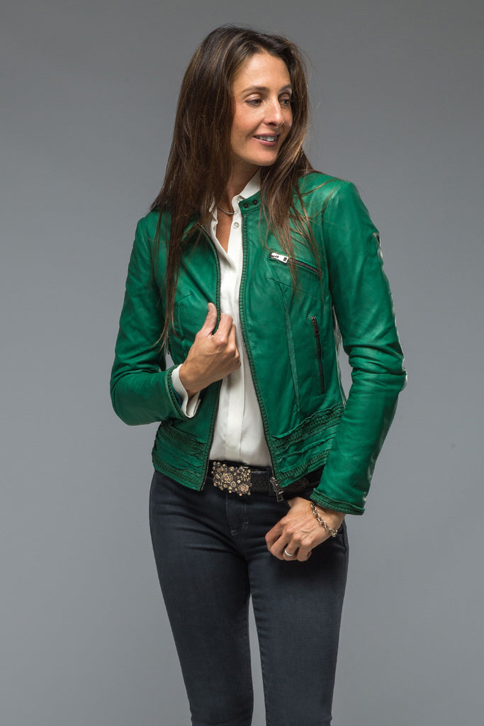 Becca Leather Jacket In Green (5858938945689)