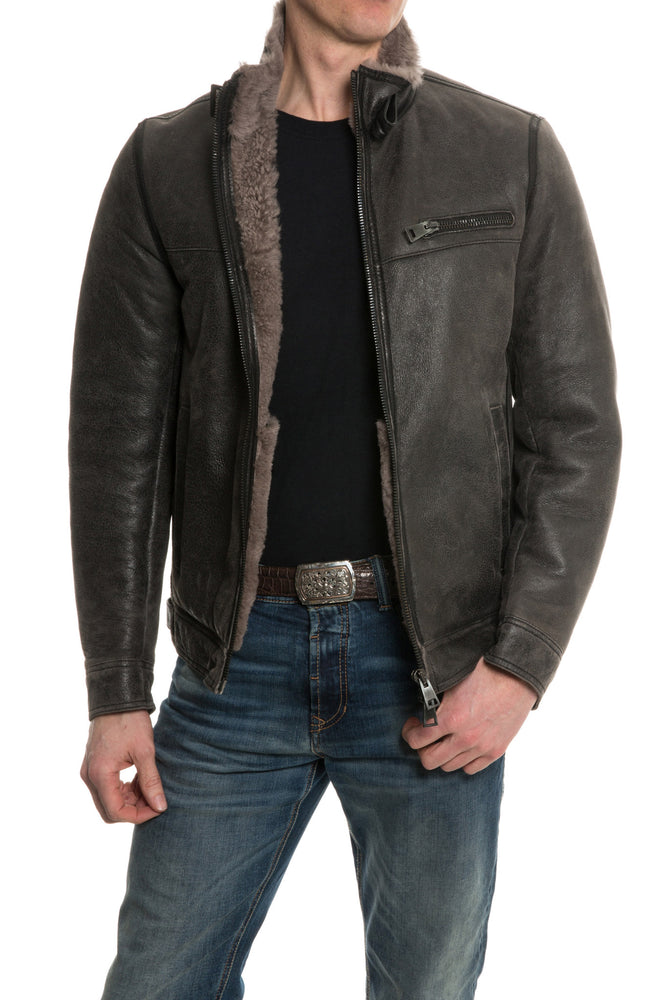 Gimo's Canneto Shearling Bomber