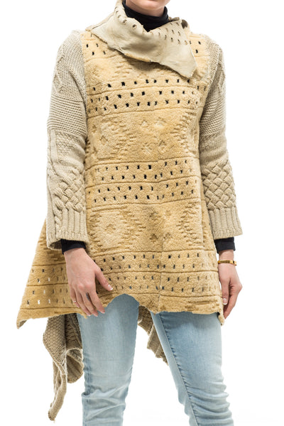 Cochise Pullover Multi-Weave Sweater