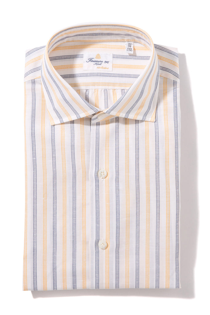 Finamore Ausa Exclusiva Handmade Dress Shirt (1302589046877)