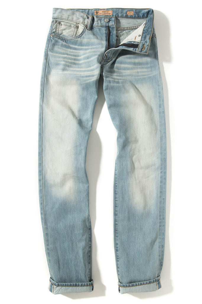 "Axel's Candiani Light Wash 34"" Inseam Denim (3627901517917)"