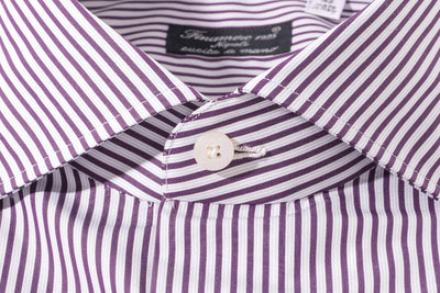 Finamore Sacco Poplin Dress Shirt