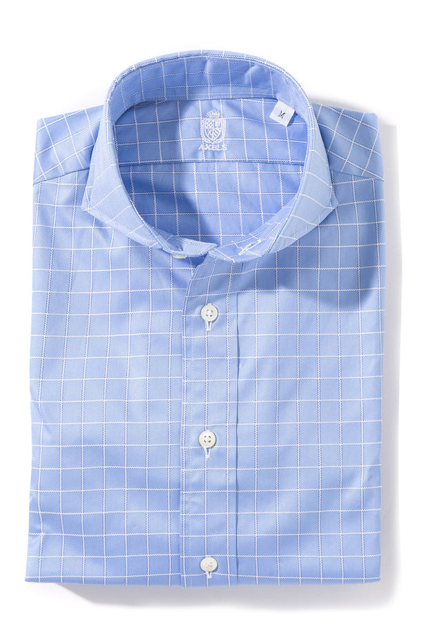 Axel's Crest Monti Windowpane Dress Shirt