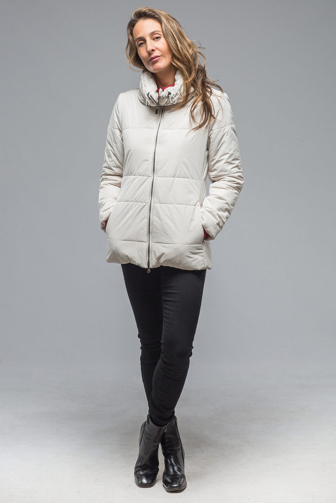 Lecce Puffer Coat in Cream (5897621995673)