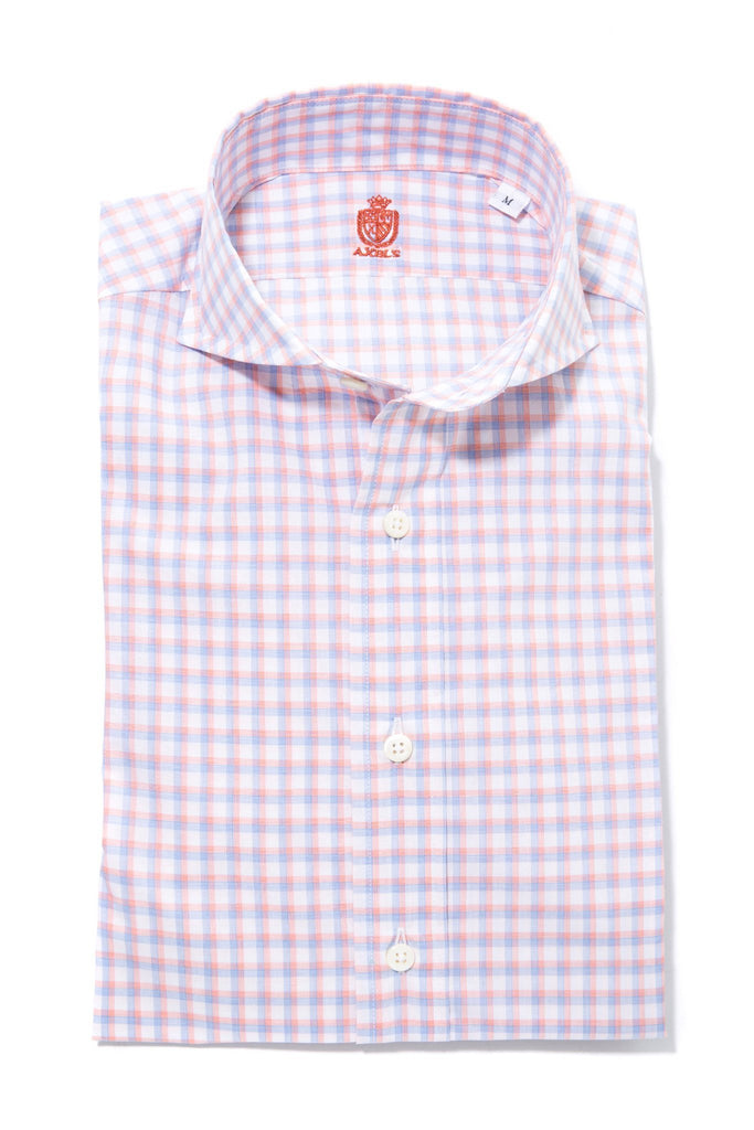 Leggiuno Double Check in Blue/Pink (4675810918493)