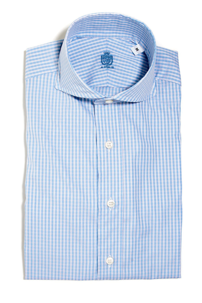 S.I.C. Tess Small Check Dress Shirt (4675798302813)