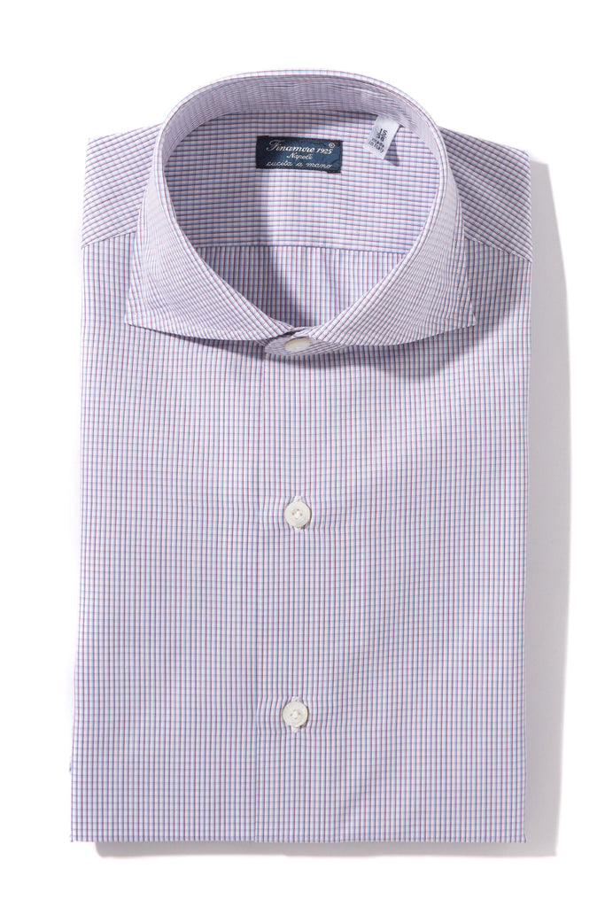 Finamore Adige Poplin Dress Shirt (1302588096605)