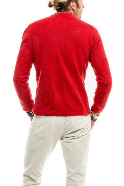 Axel's Bartoli Crew Neck in Red