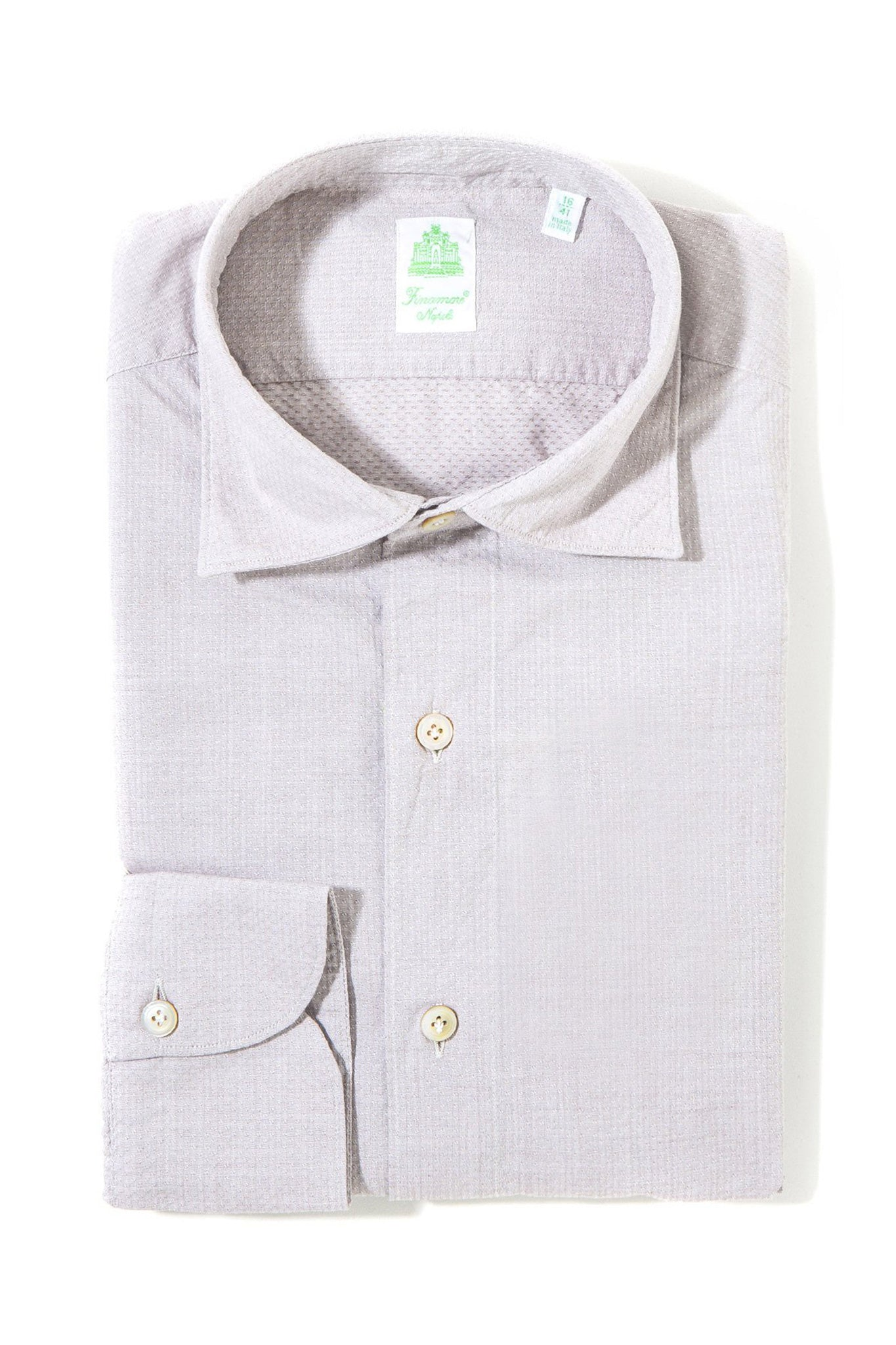 Finamore Alonzo Sport Shirt Grey (3431441858653)