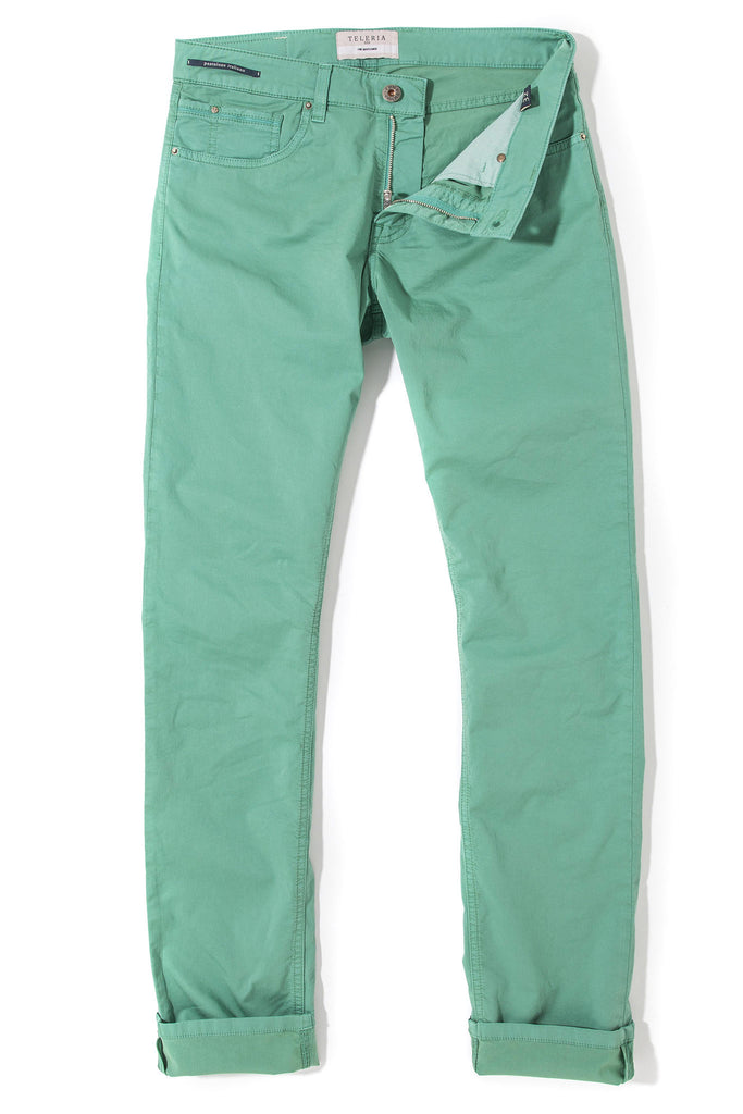 Fowler Ultralight Performance Pant In Verde Giada (4690609078365)