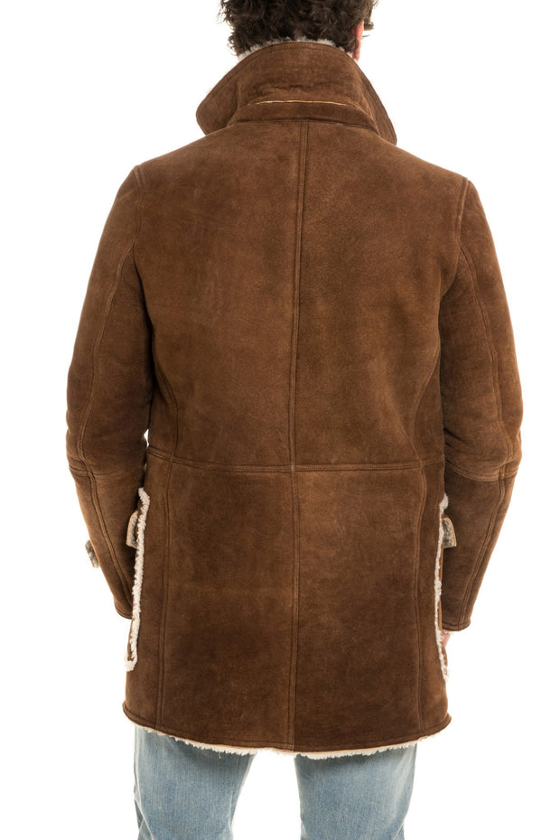 Axel's Vintage Shearling Coat