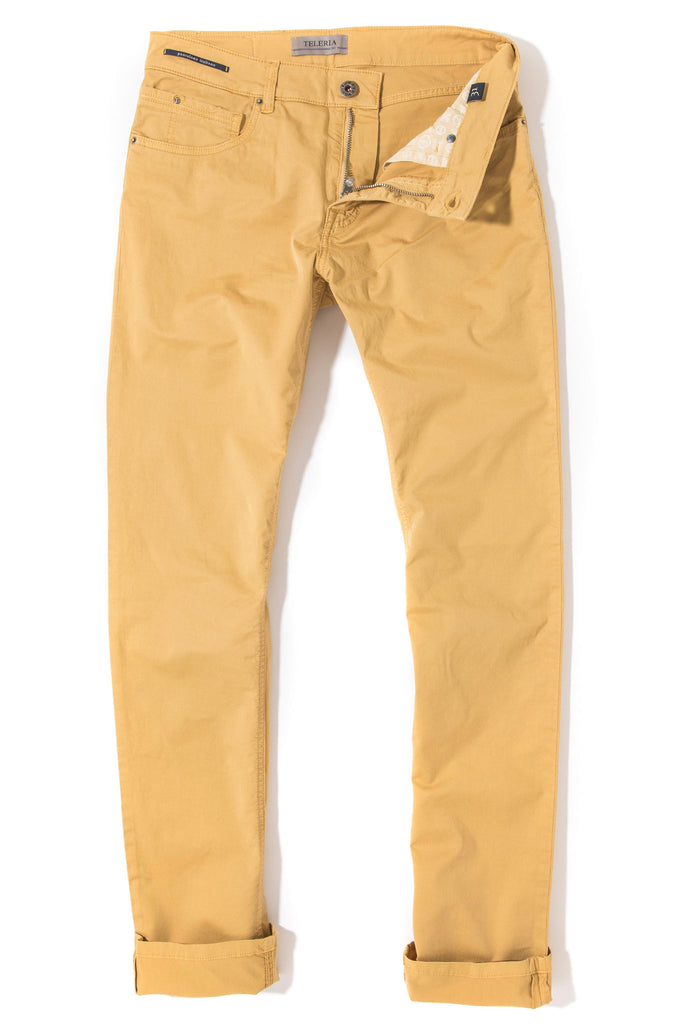 Fowler Ultralight Performance Pant In Mango (4686705819741)