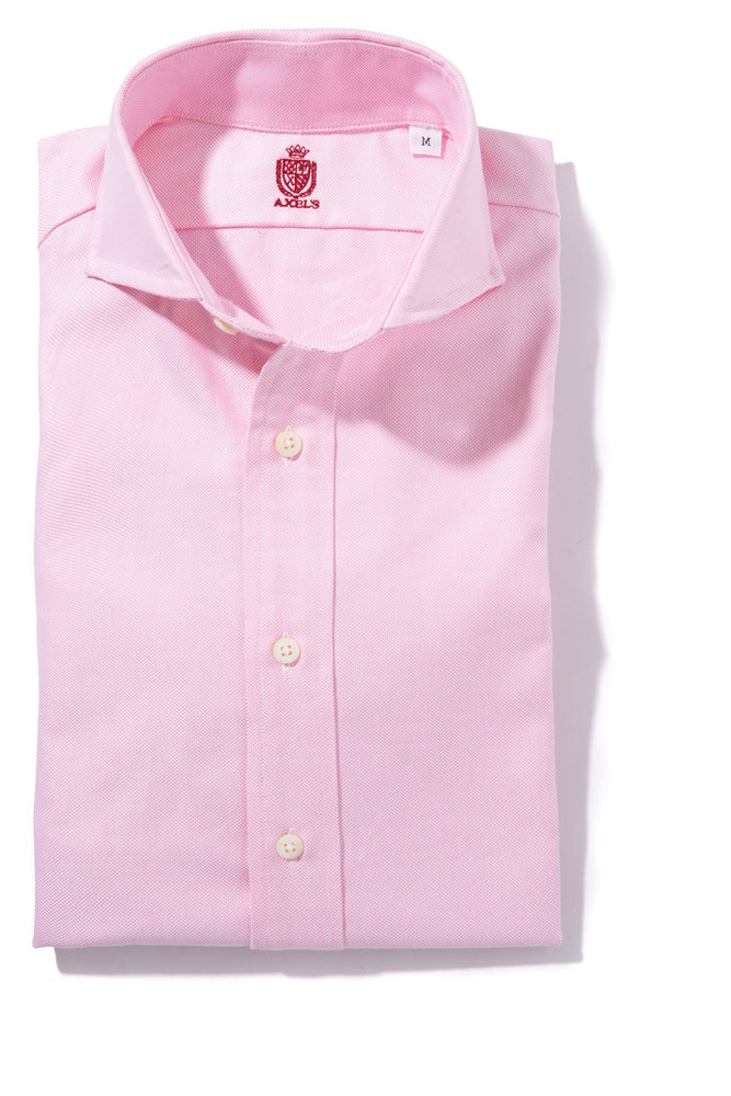 Axel's Crest Birmingham Oxford Shirt in Pink