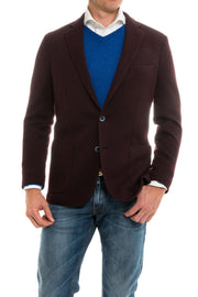 Axel's Napoli Sport Coat in Burgundy