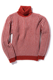 Fedeli Scola Cashmere Sweater in Red