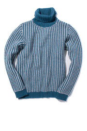 Fedeli Scola Cashmere Sweater in Blue