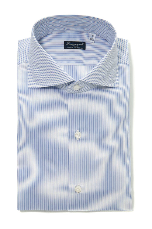 Finamore Cecco Stripped Dress Shirt
