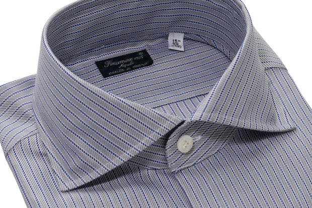 Finamore Gasparre Striped Dress Shirt
