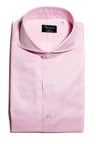 Finamore  Innerhofer Pink Oxford Dress Shirt